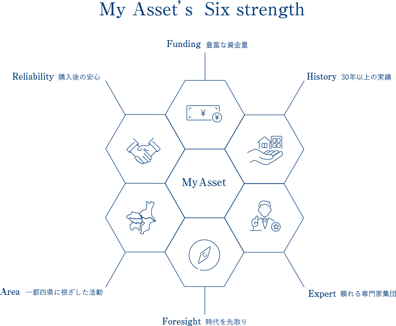 MyAsset's Six strength